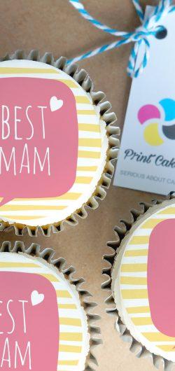 best mum buttercream cupcake gift box