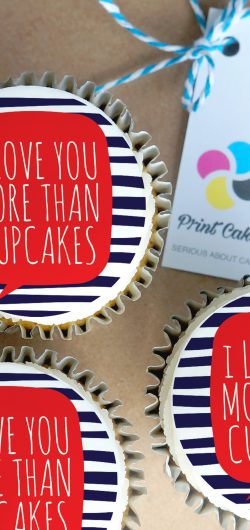 love you buttercream cupcake gift box valentines day