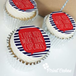 love - boyfriend - girlfriend cupcake gift box. uk delivery