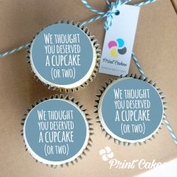 new baby cupcake gift box. uk delivery