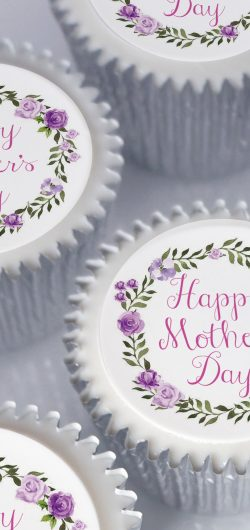 happy mothers day cupcake gift box