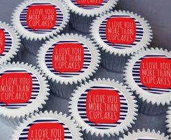love you cupcake gift box