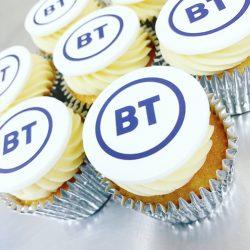 Branded Buttercream Cupcake for BT