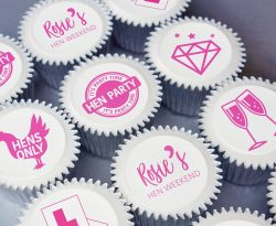 hen party cupcake gift box uk delivery