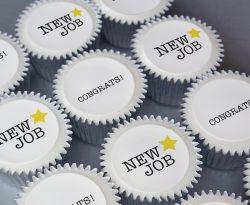 new job cupcake gift box uk delivery