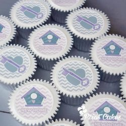 new home cupcake gift box. uk delivery