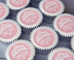 personalised princess cupcake gift box