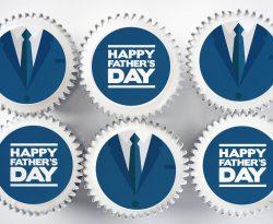 fathers day cupcake gift box