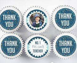 thank you teacher cupcake gift box