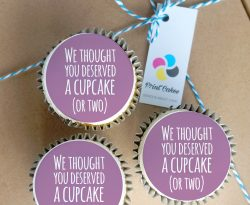retirement buttercream cupcake gift box uk delivery