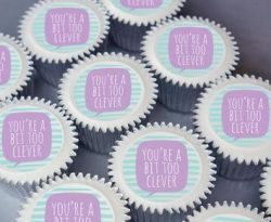 too clever cupcake gift box uk delivery