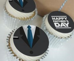 father's day cupcake gift box
