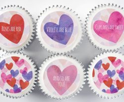 valentines day cupcake gift box love uk delivery