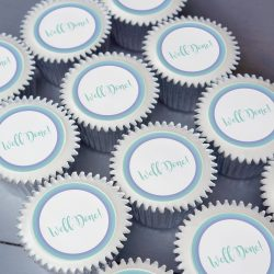 well done cupcake gift box. uk delivery