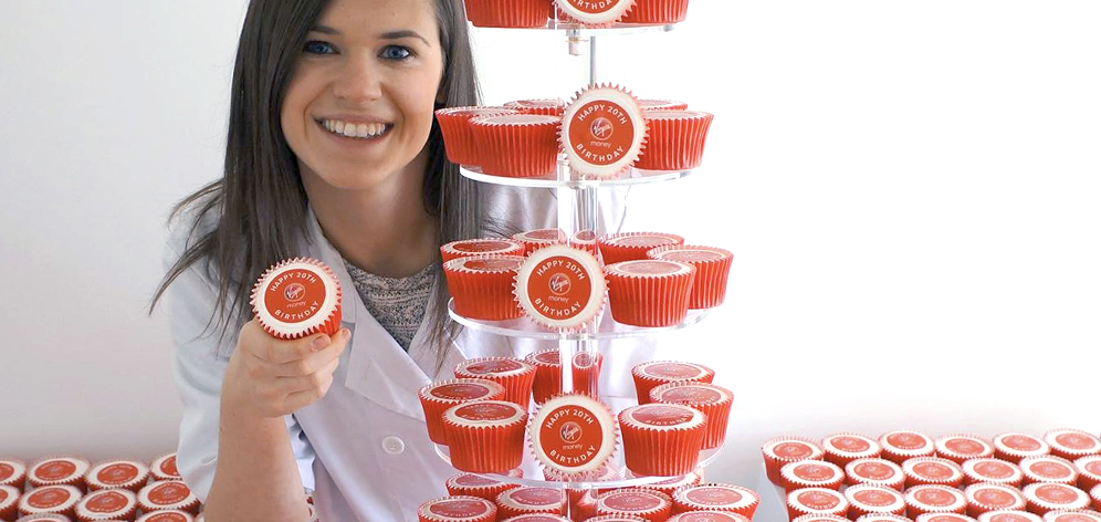 Helena Harford of Print Cakes Branded Cupcake Experts
