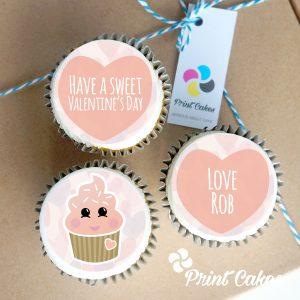 Sweet Valentines cupcakes