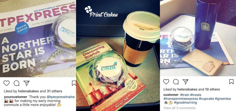 Branded cupcake marketing tools london