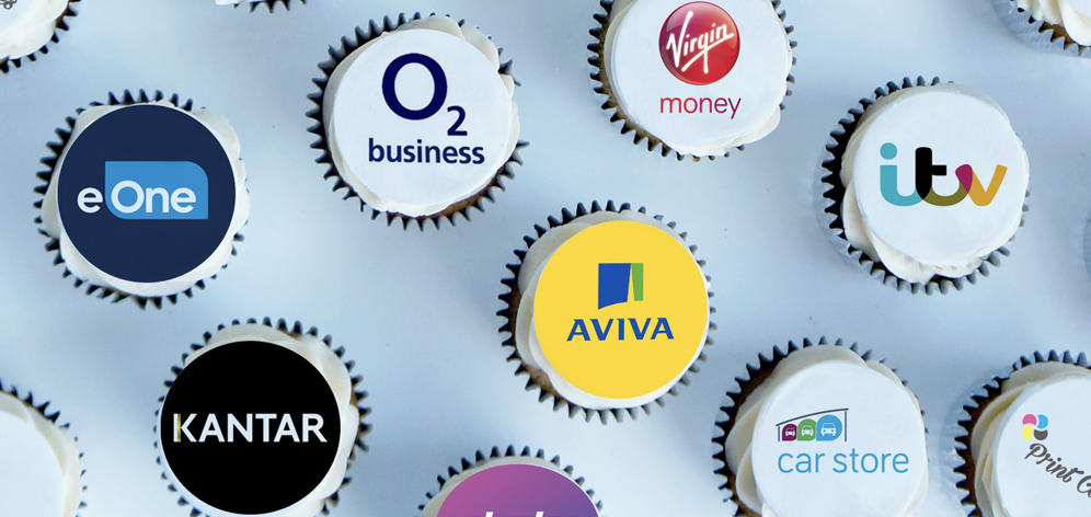 examples corporate cupcakes for big brands