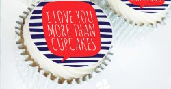 Valentine cupcake gift box uk delivery