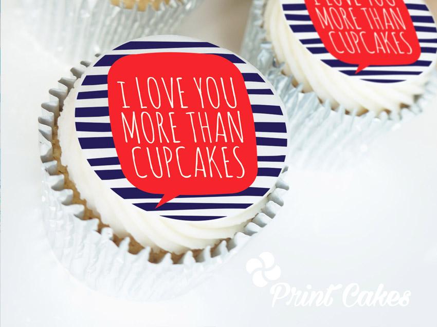 Valentine cupcake gift box uk delivery